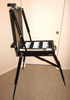 Artist Paint Case and Easel