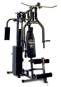 York Exercise Home Gym Metal Work Out Weights Equipment