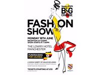 Fundraising Fashion Show for Uganda Expedition organized by Withington Girls' School Manchester UK