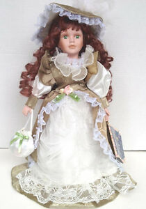 Porcelain Doll Rebecca Collection on Collector  Stand West Island Greater Montréal image 1