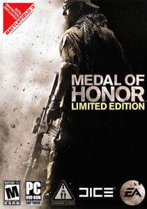 Medal Of Honor Limited Edition PC DVD Rom