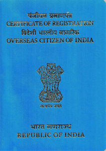 Help for OCI and Indian Visa
