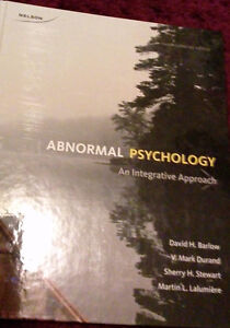 Abnormal Pyschology by Barlow, Durand... edition 4
