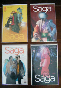 Saga,Secret Invasion,Secret Warriors,Kingdom Come,Nemesis comics