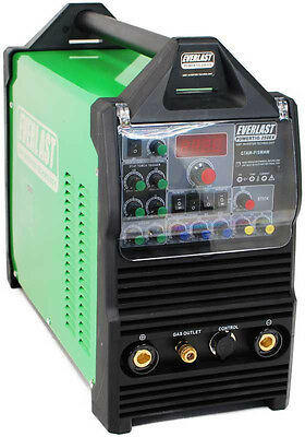 PowerTIG 250EX GTAW-P 250AMP ACD TIG STICK  PULSE WELDER by EVERLAST (Everlast 250ex Tig Welder)
