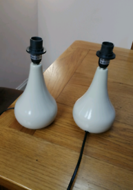 Pair touch control lamp base