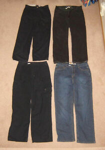 Youth's Jeans, Shorts - sz 16, men's sz 32 / Shirts sz S, M