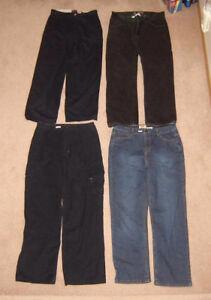 Youth's Pants, Jeans, Shorts sz 16, men's 28, 30, S, M