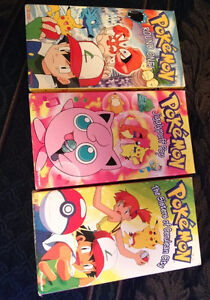 Lot of 3 Pokemon VHS Tapes
