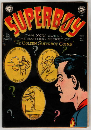SUPERBOY 15 DC Comics 1951