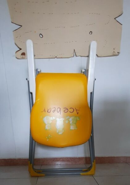 Foldable & Portable Child Toddler Baby High Dining Chair for Eating / Feeding