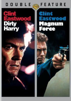 Dirty Harry/Magnum Force: Clint Eastwood 2-Disc Set (DVD 2013 Warner Bros) WS