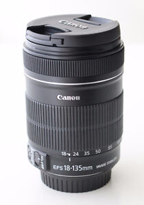 Canon EF-S 18-135mm f/3.5-5.6 IS Lens...