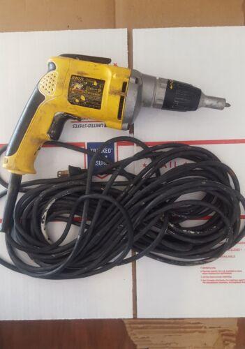 Dewalt dw272 vsr drywall screwdriver beetle killer
