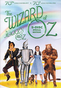 Wizard Of Oz-70th Anniversary Edition 2 disc set-Like new + more