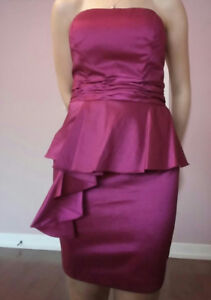 Robe de soiree / de bal **NEUVE** dress  MEDIUM