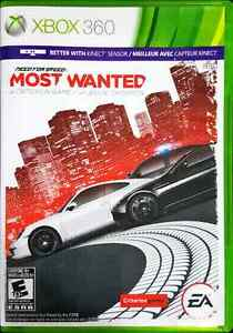 Need For Speed Most Wanted: XBOX 360