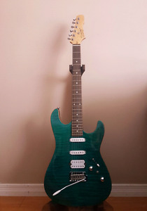 Swing S-2 Stage Electric Guitar (Green)