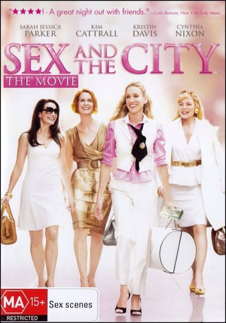 SEX & the CITY Movie (Sarah Jessica PARKER Kim CATTRALL) Romantic DVD Region 4