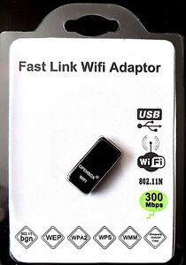 USB WIFI WIRELESS B / G / N 300 MBPS ADAPTER FOR IPTV