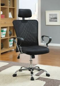 Black Office Chair, New
