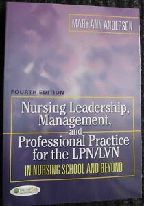Nursing leadership Management and Professional Practice for the