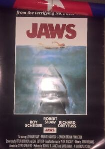 6 Movie Posters Jaws, Texas Chainsaw,The Simpsons,Halo,Che,Ali