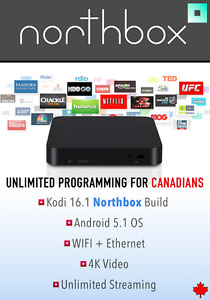 NorthBox Fully Loaded HD 4K Smart Android TV Box - KODI 16.1