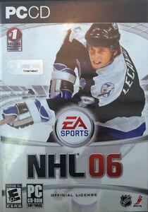 PC CD-Rom, Jeux Vidéo, NHL 06 #1, USAGÉ