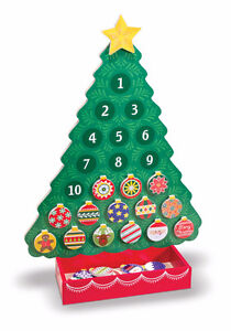 New Magnetic Advent Christmas Tree