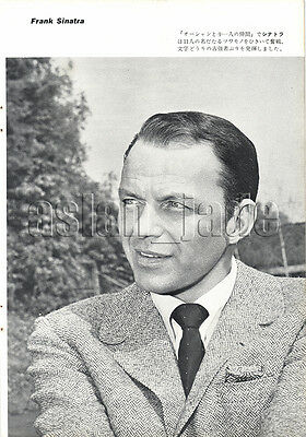 1961, Frank Sinatra  Japan Vintage Clippings 2essn