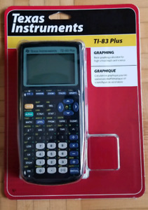 Texas instruments TI-83 PLUS graphing calculator  *NEW*
