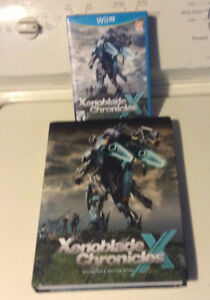 Xenoblade Chronicles X and Strategy guide Wii U