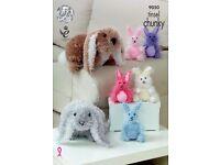 Tinsel rabbits