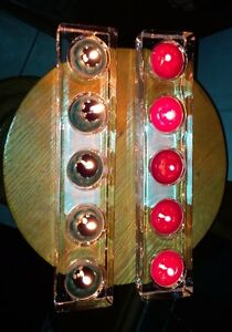 Brand new crystal clear 5-tealight holder London Ontario image 2