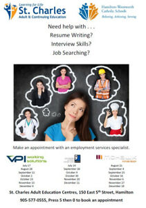 Make an Appointment with an Employment Services Specialist!
