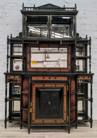 Victorian Empire Cabinet (DELIVERY AVAILABLE)