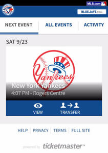 Blue Jays vs Yankees - 40% off - 200-level outfield