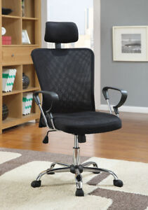 Coaster Black Office Chair. New