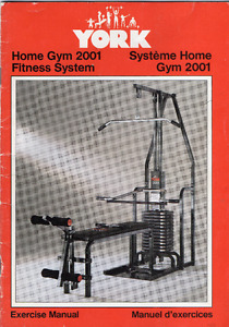 "Appareil d'exercice multifonction ""York Home Gym 2001"""