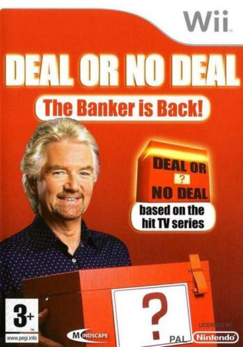 Deal or no Deal the Banker is Back (Wii tweedehands Game)