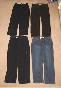 Youth's Pants, Shorts, Tops - sz 16, men's 28, 30, S, M