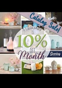 10% off Scentsy fall/winter products