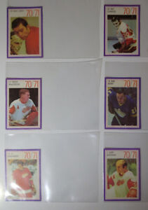 70/71 ESSO NHL POWER PLAYER STAMPS/CARDS