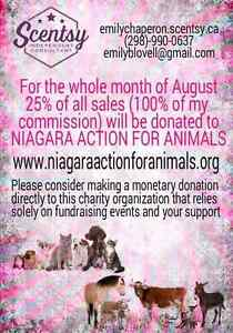 Niagara Action for Animals Scentsy Fundraiser
