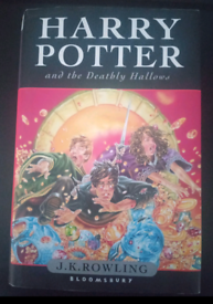 HARRY POTTER & THE DEATHLY HALLOWS - BOOK - WOW!