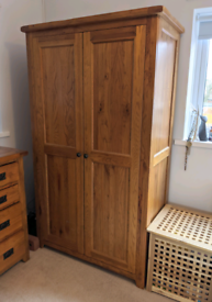 2 x matching Barker and stonehouse wardrobes