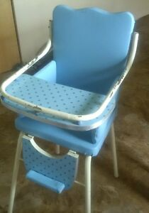 Retro High Chair Kingston Kingston Area image 1