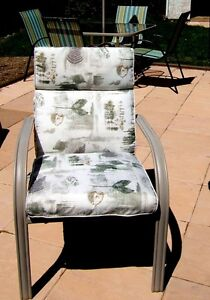 Patio / Deck Chairs w/Cushions