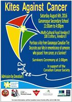 VENDORS WANTED!! for KITES AGAINST CANCER